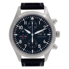Certified Authentic IWC Pilot 4722, Black Dial