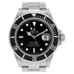 Certified Authentic, Rolex Submariner 10920, Black Dial