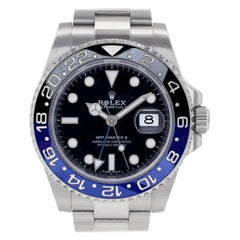Certified Authentic Rolex GMT Master II 17880, White Dial