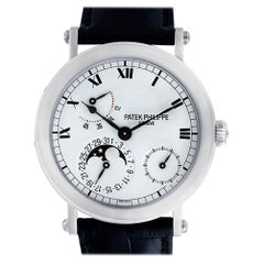 Certified Authentic Patek Philippe Power Reserve 47400, Black Dial