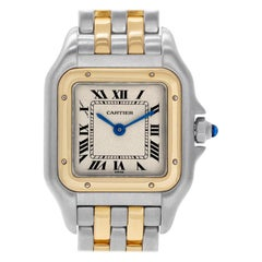 Certified Authentic Cartier Panthere de Cartier 3180, White Dial