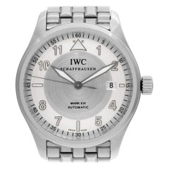 Certified Authentic IWC Pilot 4656, Black Dial