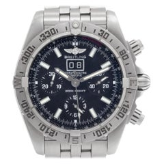 Certified Authentic, Breitling Blackbird 5388, Black Dial