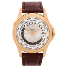 Certified Authentic Patek Philippe World Time 40440, 44 White Dial