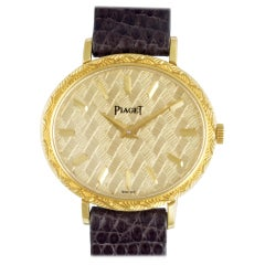 Certified Authentic Piaget Classic 3540, 43 Black Dial