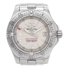 Certified Authentic, Breitling Colt 2580, Silver Dial