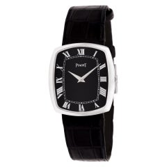 Certified Authentic Piaget Tonneau 4140, Silver Dial