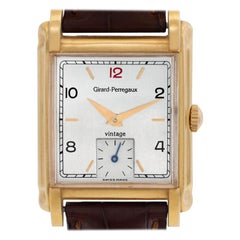Certified Authentic Girard Perragaux Vintage 4740, Gold Dial