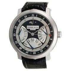 Certified Authentic Pierre Kunz Grande Complication 47700, Black Dial