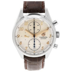 Certified Authentic TAG Heuer Carrera 2880, White Dial