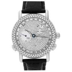 Certified Authentic Ulysse Nardin GMT Master II 46104, White Dial