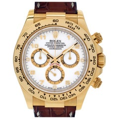 Certified Authentic Rolex Daytona 21480, Missing Dial