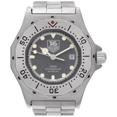 Certified Authentic TAG Heuer Professional 540, Silver Dial