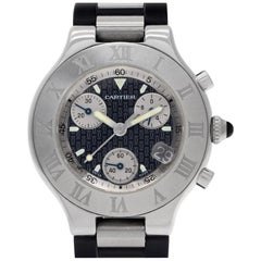 Certified Authentic, Cartier Must 213588, Silver Dial