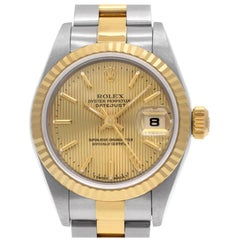 Certified Authentic, Rolex Datejust 5988, White Dial