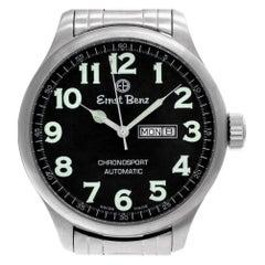 Certified Authentic, Ernst Benz Chronosport 2520, Silver Dial