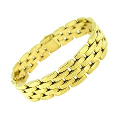 Cartier Maillon Panthere Yellow Gold 5-Row Link Bracelet