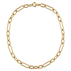Jona 18 Karat Yellow Gold Link Chain Necklace