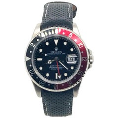 "Rolex GMT Master II Black and Red ""Coke"" Bezel, circa 1991"