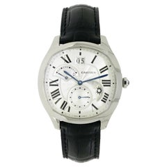 Cartier Drive GMT Stainless Steel Wristwatch