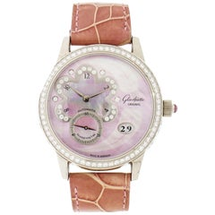 Glashütte Original Panodate White Gold Wristwatch