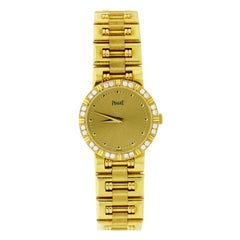 Piaget Dancer Yellow Gold and Diamond Wristwatch