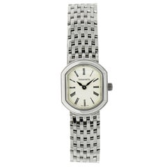Tiffany & Co. Quartz White Gold Wristwatch