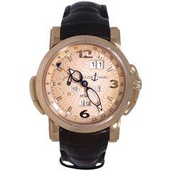 Ulysse Nardin GMT Perpetual Calendar Rose Gold Watch