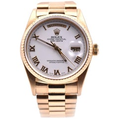 Rolex President 18 Karat Yellow Gold Day-Date Ref. 18038
