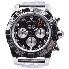 Breitling Stainless Steel Chronomat GMT Watch Ref. AB0410