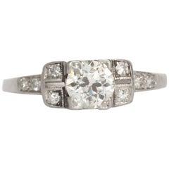.52 Carat Diamond Platinum Engagement Ring