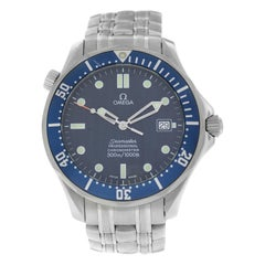 Men's Omega Seamaster 2531.80 Chronometer Steel Date Automatic Watch