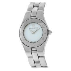 Ladies Baume & Mercier Linea 65305 Steel Quartz Watch