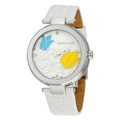 Versace Mystique White Floral I9Q99SD1TU S001 Quartz Watch