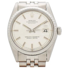 Vintage Rolex Datejust Reference 1603 Stainless Steel Watch, 1970