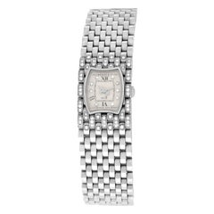 Ladies Bedat & Co No 3 Ref. 308 Stainless Steel Diamonds Quartz Watch