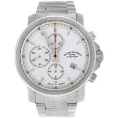 Men's Mühle Glashutte M1-25-40 Chronograph Date Steel Watch