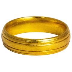 Vintage 22 Carat Gold Band