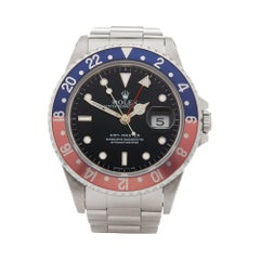 Rolex GMT Master Pepsi Stainless Steel 16700
