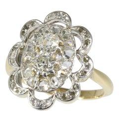 Unique Late Victorian Antique Diamond Engagement Ring