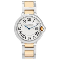 Cartier Ballon Bleu Midsize Stainless Steel Men's/Ladies Watch W69011Z4