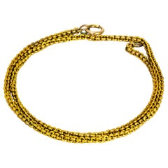 Vintage 18 Carat Gold Necklace