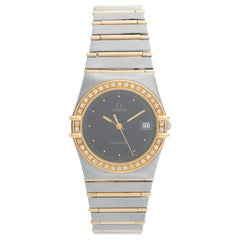 Omega Constellation 2-Tone Diamond Watch