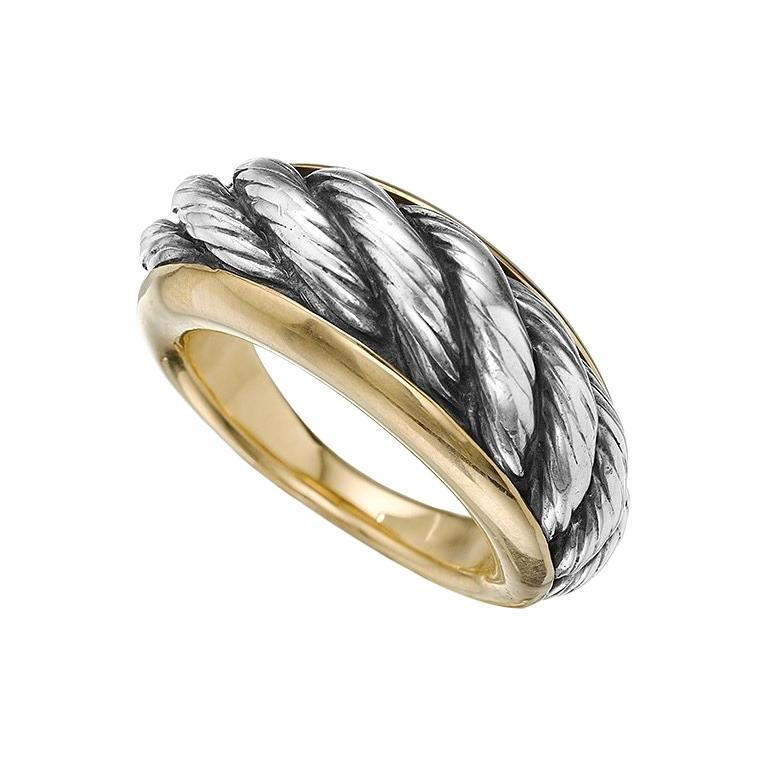White and Yellow Gold Ring by Van Cleef & Arpels