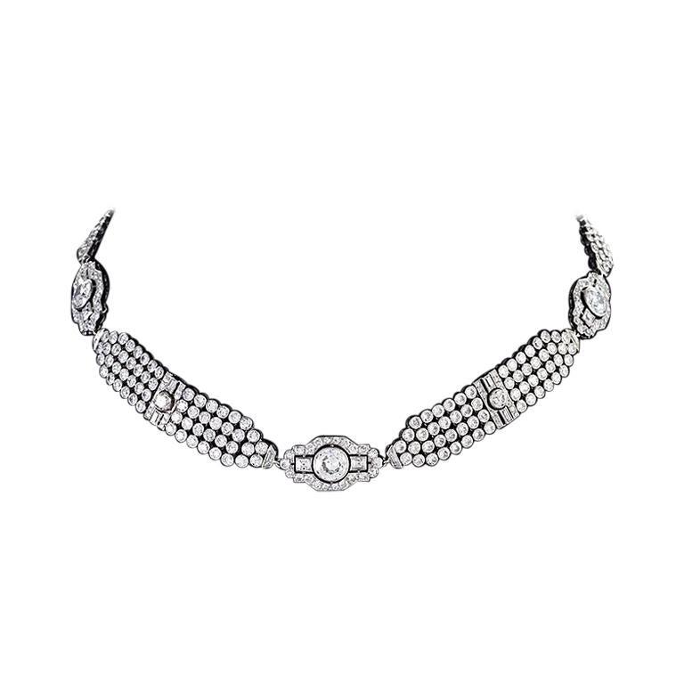 Convertible Diamond Collar Necklace