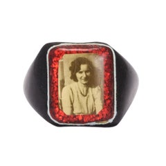 1940s Celluloid Prison Ring