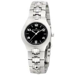 Lady Maurice Lacroix SA1013-SS002-320 Steel Date Quartz Watch