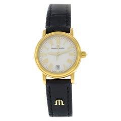 Lady Maurice Lacroix Les Classiques LC1012-YP011-710 Gold Quartz Watch