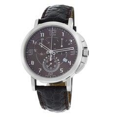 Men's Montblanc Timewalker 36052 Chronograph Date Quartz Steel Watch
