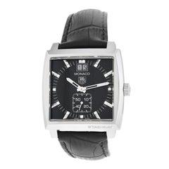 Ladies Tag Heuer Monaco Grande WAW1310.FC6216 Steel Diamond Quartz Watch
